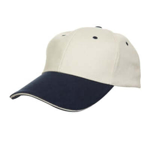 6 Panel Cotton Brushed Cap - AbrandZ Corporate Gifts Singapore