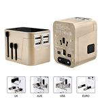 Sleek Travel Adaptor With 4 USB Port | Travel Adaptor | electronics | AbrandZ: Corporate Gifts Singapore