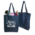 Denim A3 Tote Bag | Tote Bag | Bags | AbrandZ: Corporate Gifts Singapore
