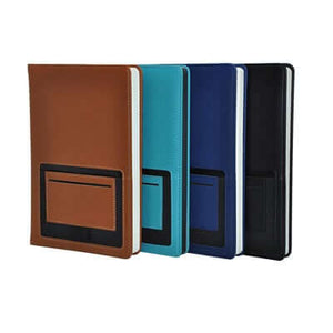 A5 Notebook with Front Card and Pen Slot