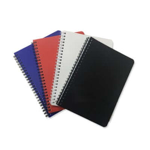 A5 Plastic Cover Wire O Notebook - abrandz