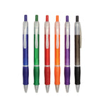 Frosty Ball Pen with Rubber Grip - AbrandZ Corporate Gifts Singapore