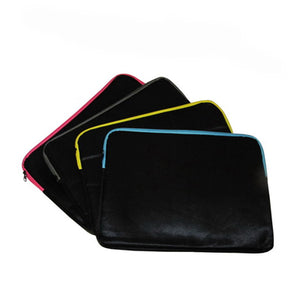 Laptop Sleeve with Coloured Zipper