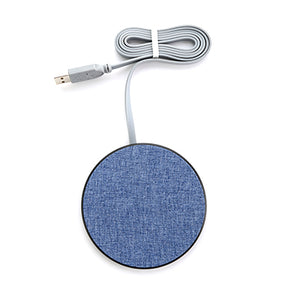 Fabric Fast Charge Wireless Charger - AbrandZ Corporate Gifts Singapore