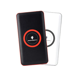 Portable 2 in 1 8000mAh Wireless Charger | AbrandZ Corporate Gifts Singapore
