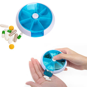 Rounded Plastic Pill Box | AbrandZ Corporate Gifts Singapore