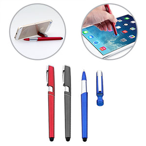 Ball Pen with Stylus and Phone Stand - AbrandZ Corporate Gifts Singapore