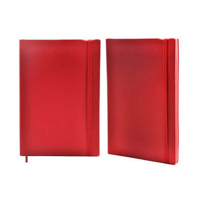 A5 Notebook with Matching Colour Side