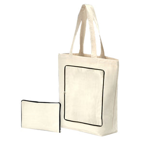 Foldable Cotton Bag - AbrandZ Corporate Gifts Singapore