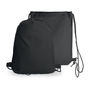 Black Cotton Drawstring Bag - AbrandZ Corporate Gifts Singapore