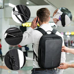 Bobby Bizz Anti Theft Backpack & Briefcase with Strap | Backpacks, Document Bag | Bags | AbrandZ: Corporate Gifts Singapore