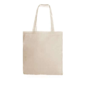 12oz Beige Canvas Tote Bag | AbrandZ Corporate Gifts Singapore