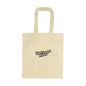 Beige Canvas Tote Bag | AbrandZ Corporate Gifts Singapore