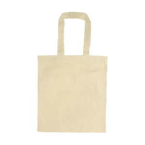 Beige Canvas Tote Bag - abrandz