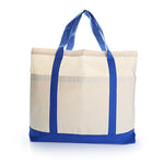 Two Tone Big Tote Bag