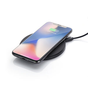 Black Qi Wireless Charger | AbrandZ Corporate Gifts Singapore