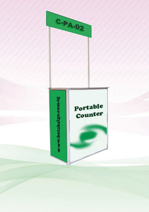 Aluminium Event Counter - AbrandZ Corporate Gifts Singapore