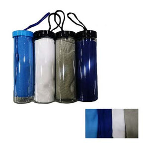 Cooling Towel With Container | AbrandZ Corporate Gifts Singapore