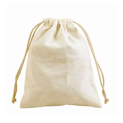 Canvas Drawstring Pouch