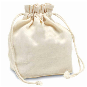 Canvas Drawstring Pouch - abrandz