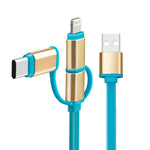 Dual Colour Fast Charging Cable | USB Charging Cable | Gadgets | AbrandZ: Corporate Gifts Singapore
