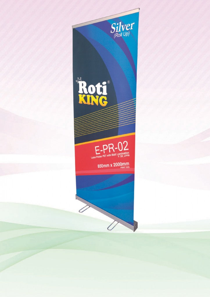 Roll Up Banner (Silver Stand)