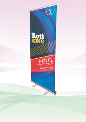 Roll Up Banner (Silver Stand) - abrandz