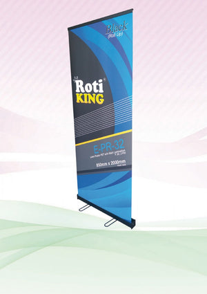 Roll Up Banner (Black Stand) - abrandz