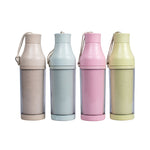 Eco Friendly Wheat Straw Double Wall Bottle