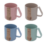 Eco Friendly Wheat Straw Green Mug - AbrandZ Corporate Gifts Singapore