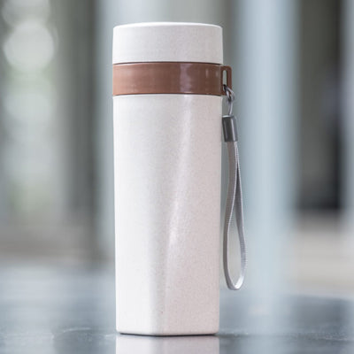 Eco Friendly Wheat Straw Travel Bottle