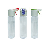 Transparent Mist Bottle with Colored Clip | Water Bottle | Drinkware | AbrandZ: Corporate Gifts Singapore
