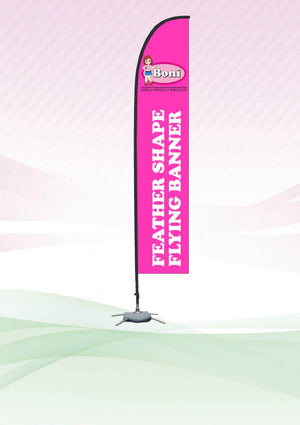 Feather shape Flying Banner - abrandz