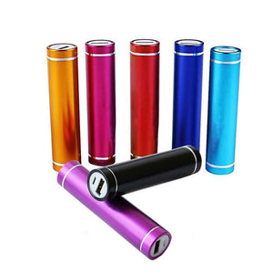 2600mAh Mini Cylinder Power Bank