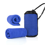 Microfiber Towel with Mesh Bag | AbrandZ Corporate Gifts Singapore