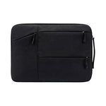 Multi Zip Padded Laptop Sleeve with Handle
