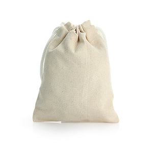 Drawstring Canvas Pouch (Small) - AbrandZ Corporate Gifts Singapore