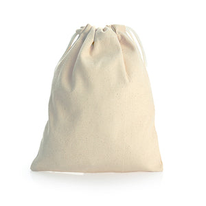 Drawstring Canvas Pouch (Big) - AbrandZ Corporate Gifts Singapore