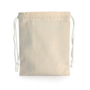 Drawstring Canvas Pouch (Small)