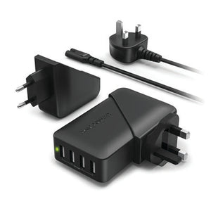 RavPower 4 Port Travel Wall Charger | AbrandZ Corporate Gifts Singapore