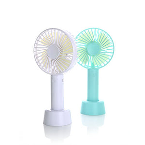 Rechargeable Portable Fan with Stand - abrandz