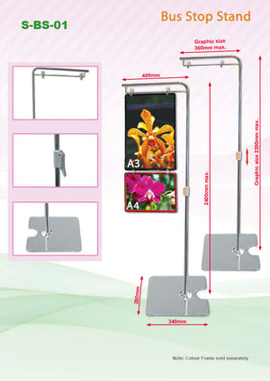 Bus Stop Stand | Large Format Printing | large Format | AbrandZ: Corporate Gifts Singapore