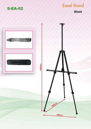 Aluminium Easel Stand (Black) | AbrandZ Corporate Gifts Singapore