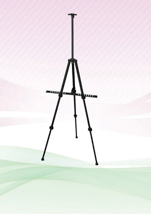 Aluminium Easel Stand (Black) - AbrandZ Corporate Gifts Singapore