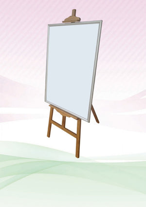 Bamboo Easel Stand | Large Format Printing | large Format | AbrandZ: Corporate Gifts Singapore