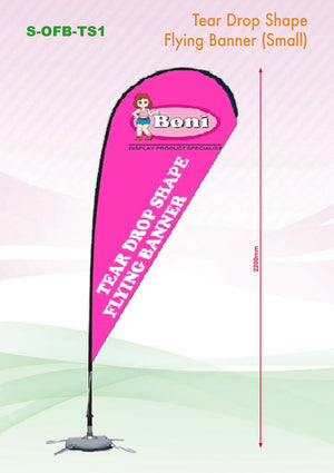 Tear shape Flying Banner - abrandz