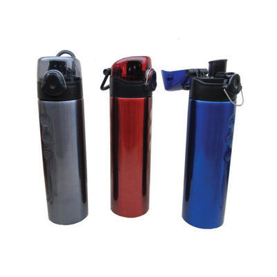 Stainless Steel Bottle with Clip Lock Cap