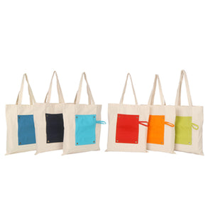 Fancy Canvas Foldable Bag | AbrandZ Corporate Gifts Singapore