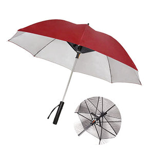 UV Coated Umbrella with Fan and Powerbank - abrandz