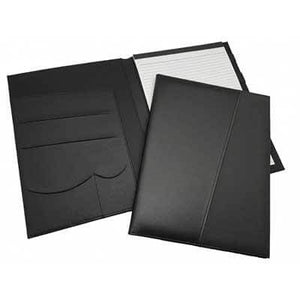 A4 Black Portfolio W/Notepad | Corporate Gifts Singapore
